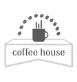 coffee house 1 vector image vector image