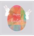 Happy Easter8 vector image vector image