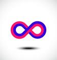 Infinity symbols vector image