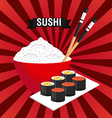 japanese food vector image