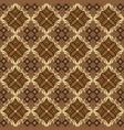 javanese batik art work with beautiful motif and vector image vector image