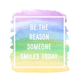 Motivation poster reason someone vector image vector image
