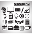 Office icon for bussiness vector image vector image