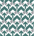 Pastel abstract seamless pattern with arrows vector image vector image