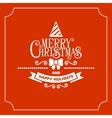 Red Christmas Greeting Card Background