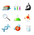 Science Realistic Icons vector image vector image