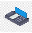 Terminal card isometric icon