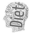 the ten best diet foods in existence text vector image vector image