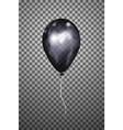 black air balloon eps10 vector image vector image