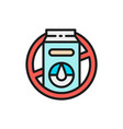 forbidden sign with milk packaging lactose vector image