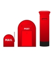 Mailboxes vector image