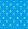 medicine pattern seamless blue vector image vector image