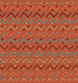 multicolored seamless tribal pattern background vector image vector image