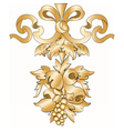 Royal floral classic ornament element vector image vector image