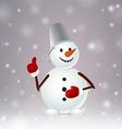 Snowmen like vector image