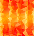 striped orange polygonal triangular pattern vector image vector image