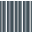 vertical stripes seamless pattern vector image vector image