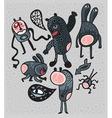 spooky cartoons vector image