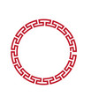 chinese border vector image