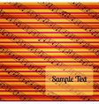 Colorfur striped musical background vector image vector image