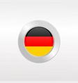 german flag vector image vector image