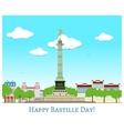 Happy Bastille Day vector image vector image