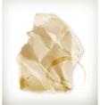 Scrap of paper vector image