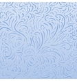 seamless frost background vector image vector image