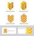Agriculture or agricultural logo vector image
