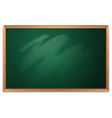 an empty chalkboard template vector image