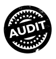 Audit rubber stamp vector image vector image