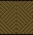 gold 3d textured grid seamless pattern lattice vector image