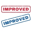 Improved Rubber Stamps vector image vector image