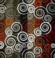 retro spiral seamless vector image vector image