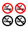 Set symbols - no smoking vector | Price: 1 Credit (USD $1)