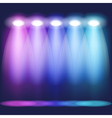 Stage light vector image