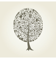 Tree art vector image