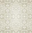 east pattern beige background vector image vector image