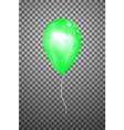 green air balloon eps10 vector image
