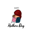 mothers day poster vector image