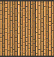 seamless bamboo background pattern on dark back vector image vector image
