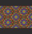 seamless yantra background bagalamukhi mandala vector image