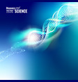 absrtact science concept vector image