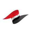 syria flag vector image