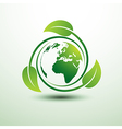 green earth2 vector image vector image