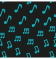 Musical Notes Seamless Pattern vector image vector image