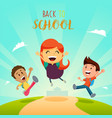 school student pencil rubber book exam kids vector image vector image