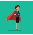Super woman Business concept vector image vector image