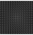 Abstract black geometric squares background vector image vector image