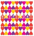 Happy Heart Day vector image vector image